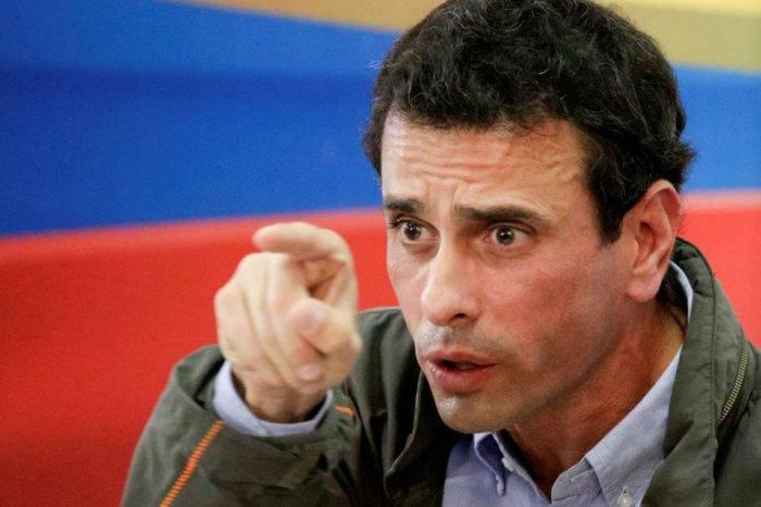 """Capriles se las """"canta"""" a Maduro: El acuerdo no es conmigo, es con la legítima AN"""