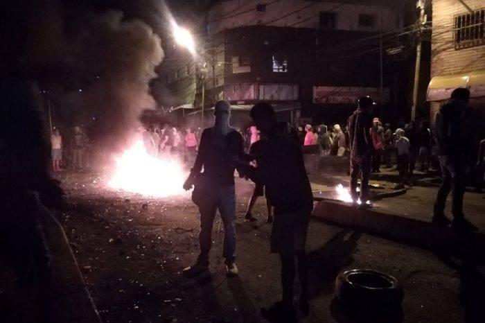 Catia protestas 22 enero