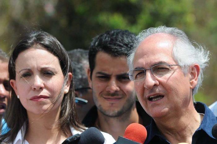 María Corina Machado y Antonio Ledezma afirman que Juan Guaidó debe asumir la presidencia