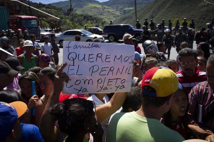 La protesta por el pernil se cocinó sin gas doméstico