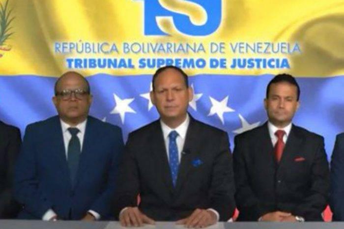 """Grupo de magistrados en el exilio reconoce a Guaidó como """"máxima autoridad del Ejecutivo"""""""