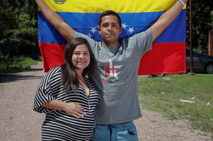 Venezolano se fue a pie para Argentina y llegó a tiempo para el nacimiento de su hijo
