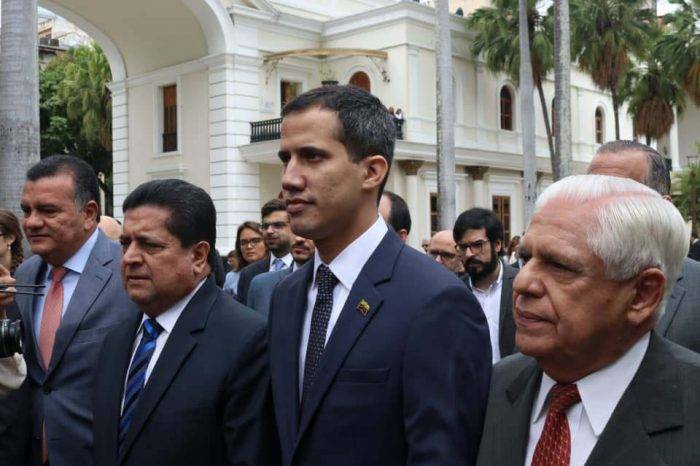 Juan Guaidó fue electo como nuevo presidente de la Asamblea Nacional