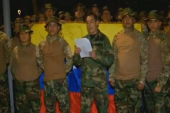 Militares venezolanos en Colombia aseguran que realizan avanzada hacia la frontera