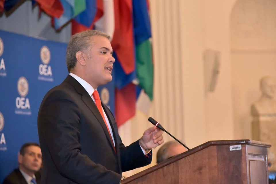 Iván Duque presidente Colombia