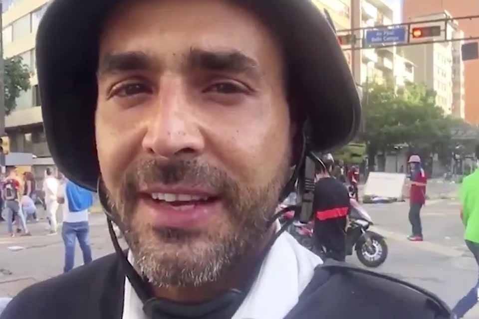 Daniel Garrido corresponsal Telemundo