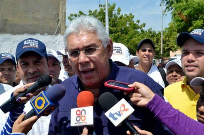 Gobernador Barreto Sira: Pruebas confirman contaminación del agua en Anzoátegui