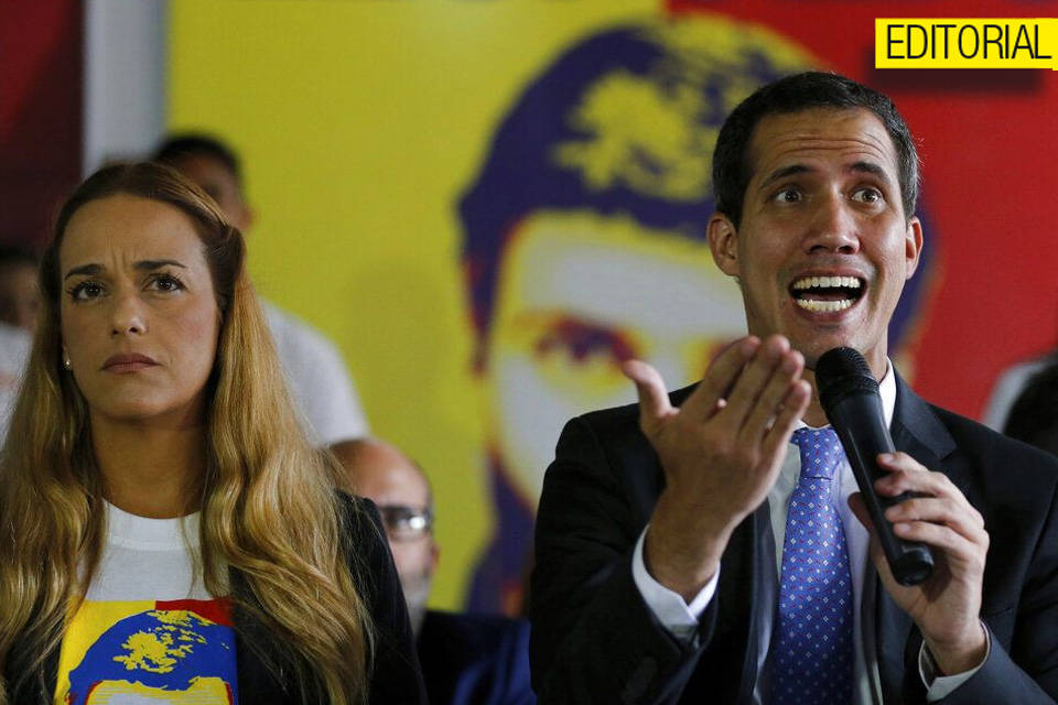 Juan Guaidó. Editorial