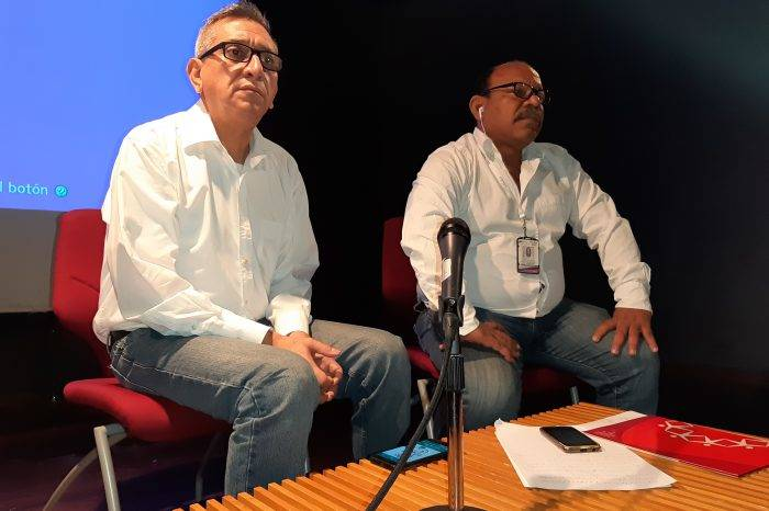 Alberto Nieves y Eduardo Franco
