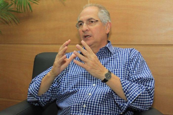 Antonio Ledezma pide a Guaidó que firme acuerdo con la DEA