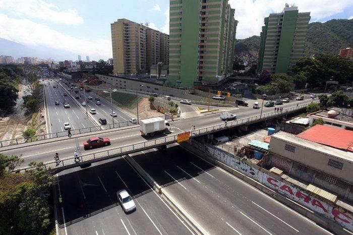 tráfico en Caracas