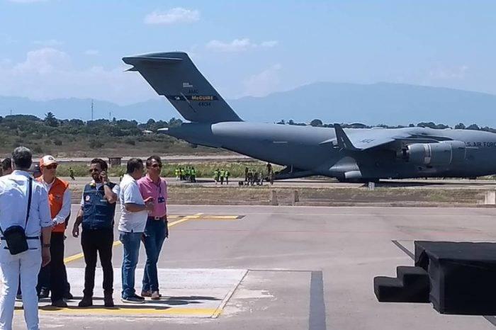 Llegó segundo envío de ayuda humanitaria desde EEUU a Cúcuta