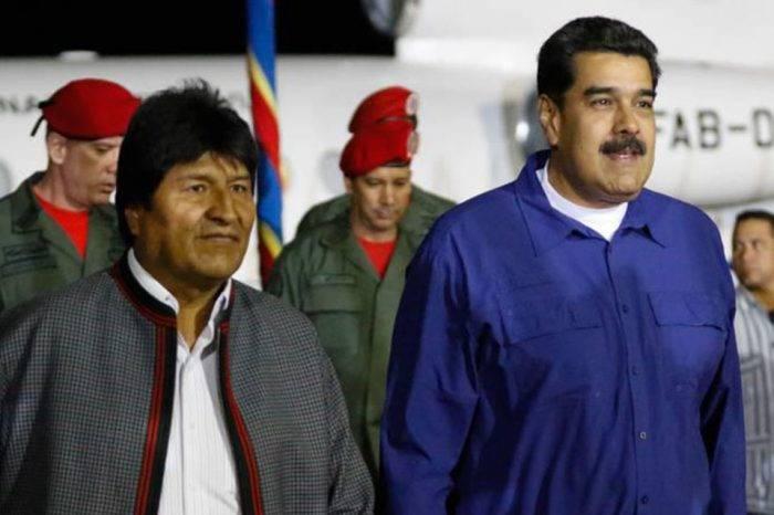 Evo y Maduro 2019