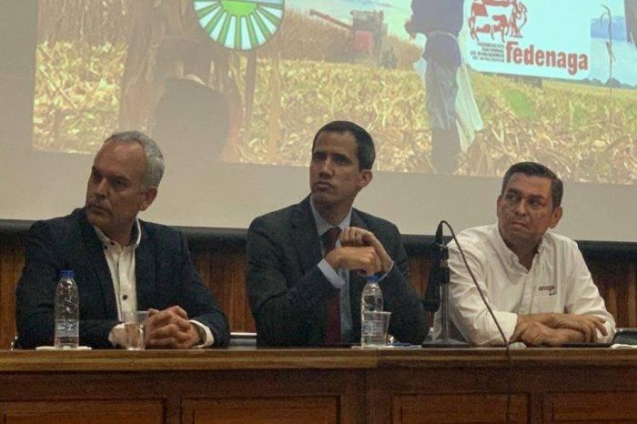 """Guaidó aseveró que ayuda humanitaria solo es """"paliativa"""" y que la producción es la clave"""