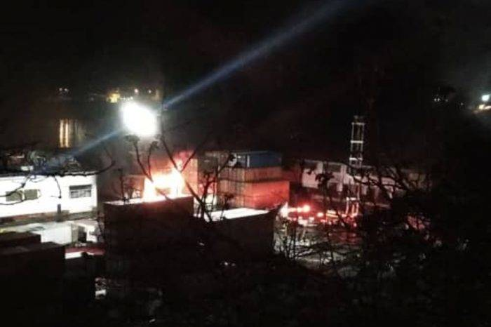 Incendio destruye almacén en puerto de La Guaira con insumos para los CLAP