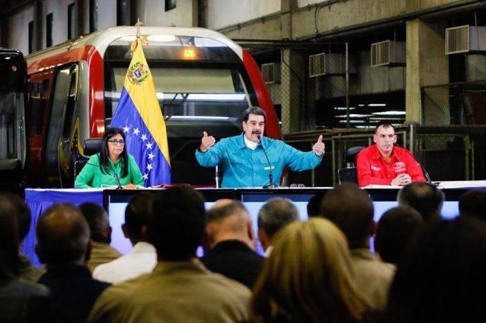 Maduro promete nuevas obras del Metro y sistema de transporte en Venezuela