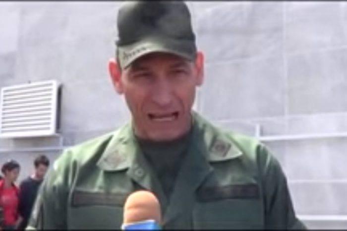 Familiar de Luis Parra y un FAES invaden apartamento de general obligado a exiliarse