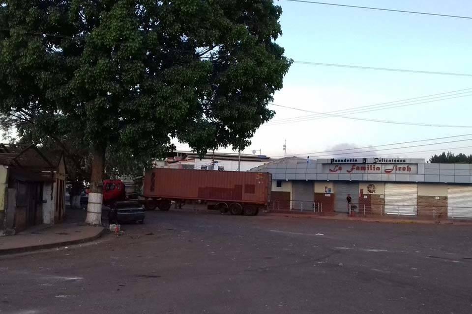 Protestas Santa Elena de Uairés