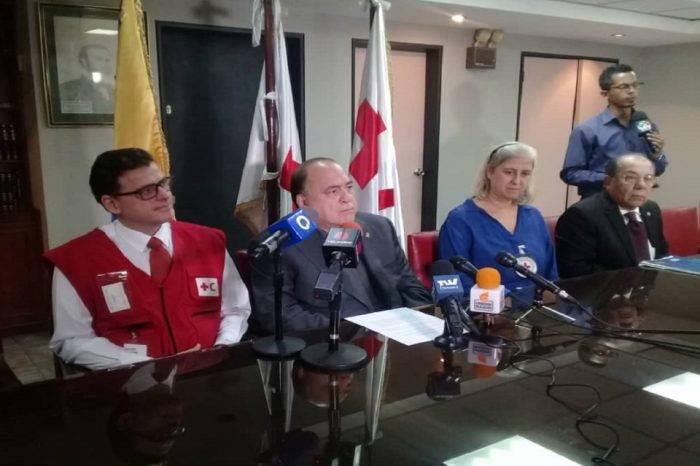 Cruz Roja venezolana confirma que actuará cuando la ayuda humanitaria ingrese al país