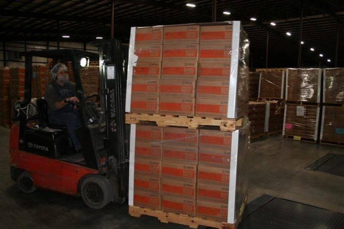 Ayuda humanitaria del #23Feb almacenada en Colombia se distribuirá en Cúcuta
