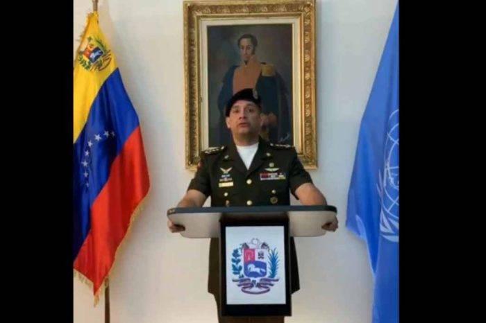 Agregado militar de Venezuela en la ONU desconoce a Maduro y respalda a Guaidó
