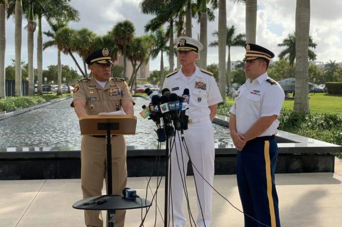"""Comando Sur de EEUU estaría preparado para """"desplegar la marina"""" de ser necesario"""