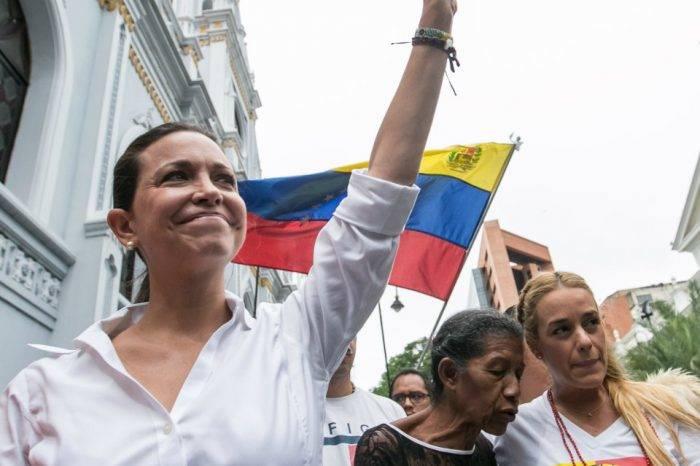 María Corina Machado le insiste a Italia que respalde a Juan Guaidó