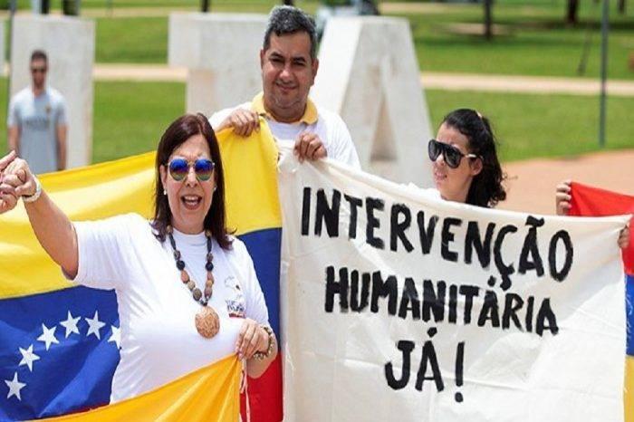 Venezolanos en Brasil protestaron para exigir la salida de Maduro