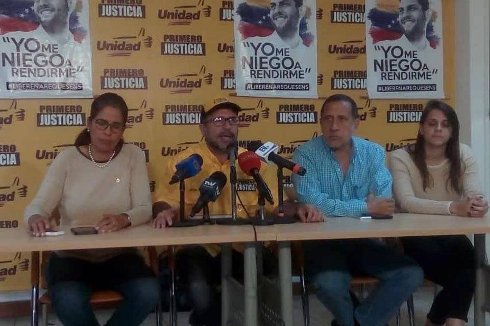 """Diputados acusados de traición """"están a resguardo"""", informó el vocero de PJ Jorge Millán quien aseguró que en Venezuela """"no hay ley"""""""