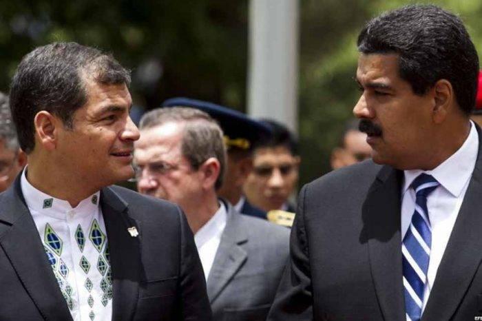 """Destapan corrupción entre Maduro y Rafael Correa para financiar """"socialismo"""""""