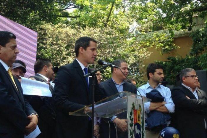 Juan Guaidó anunció simulacro de la Operación Libertad para el 6 de abril