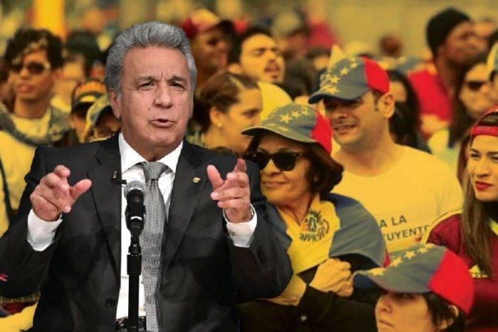 Lenín Moreno: Maduro no tendrá ni olvido ni perdón por los crímenes que ha cometido
