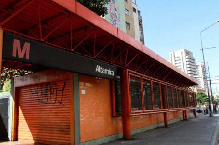 Estaciones Chacao, Altamira y Miranda del Metro de Caracas no están trabajando el #5Abr