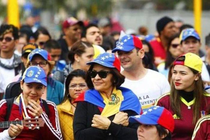 Migrantes venezolanos Peru
