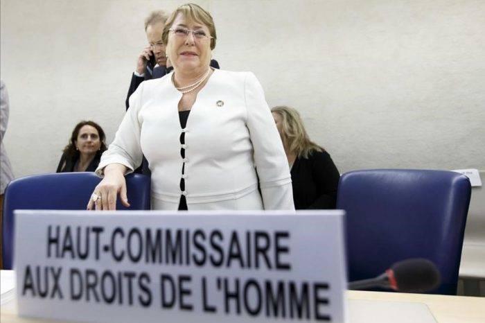 Preocupa que Bachelet no denuncie violaciones de DDHH en Venezuela