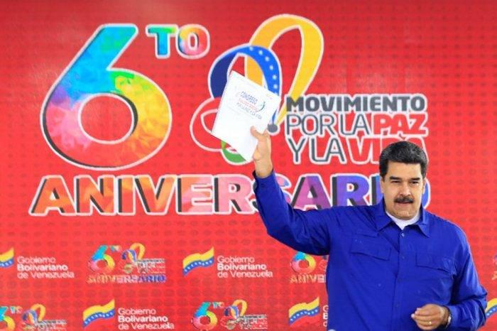 """Maduro insiste en instalar """"cuadrillas de paz"""" en cada rincón del país"""