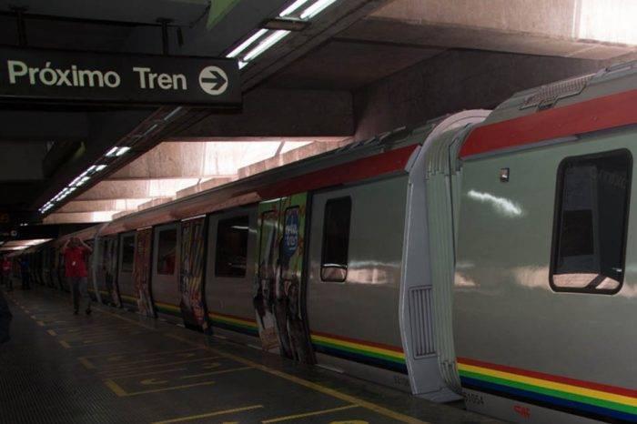 Línea 3 del Metro de Caracas no presta servicio comercial el #4Abr