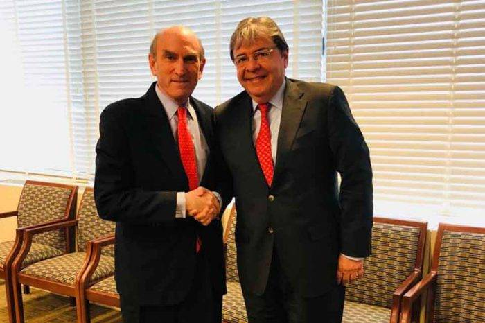 Crisis en Venezuela ocupó agenda del canciller de Colombia en visita a EEUU
