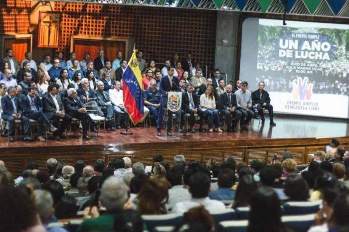 """Al Frente Amplio Venezuela Libre le falta concretar """"más calle"""" a un año de su creación"""