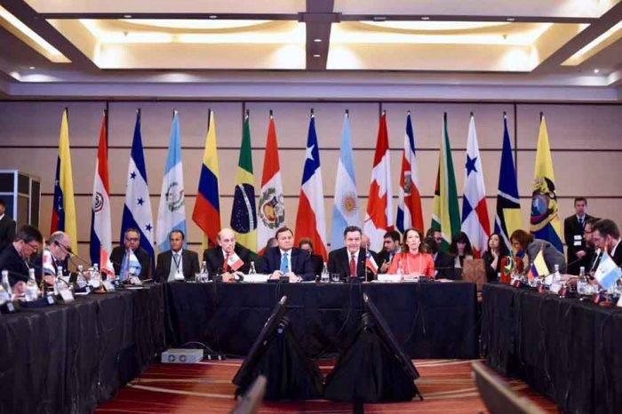 Grupo de Lima rechaza cualquier acción o amenaza de intervención militar en Venezuela