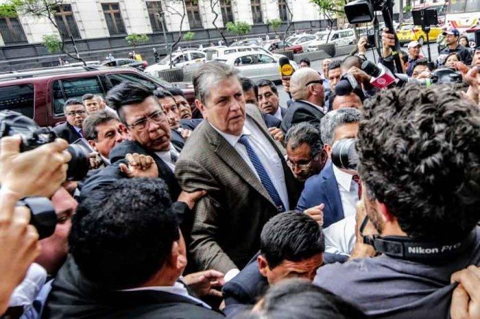Alan García, el expresidente que trató de huir del escándalo Odebrecht con un tiro