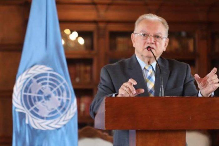 Eduardo Stein representante especial Acnur OIM ONU