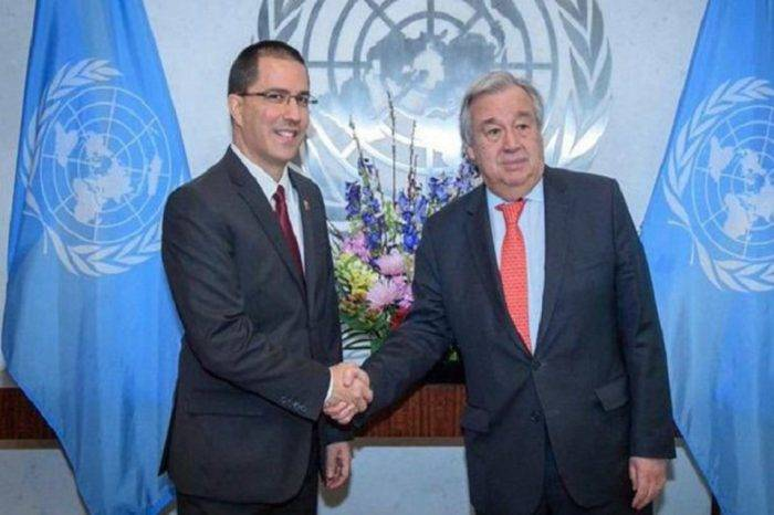 Un Arreaza boicoteado pide a la ONU que en ese foro no se resuelvan temas bilaterales