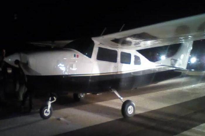 Avioneta mexicana fue interceptada con presunto contrabando de gasolina en Falcón