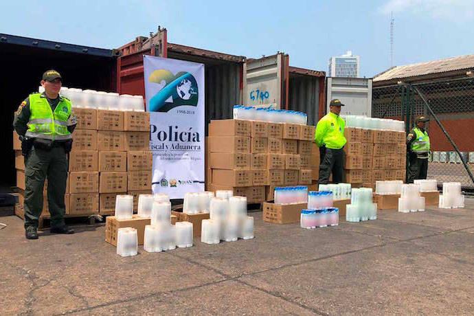 Incautan en Colombia productos de aseo falsos que se iban a enviar a Venezuela