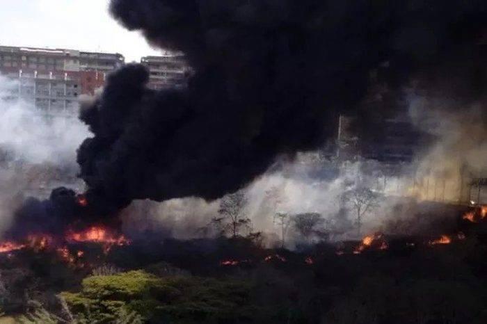 Descuido y falta de mantenimiento genera nuevo incendio forestal en Baruta