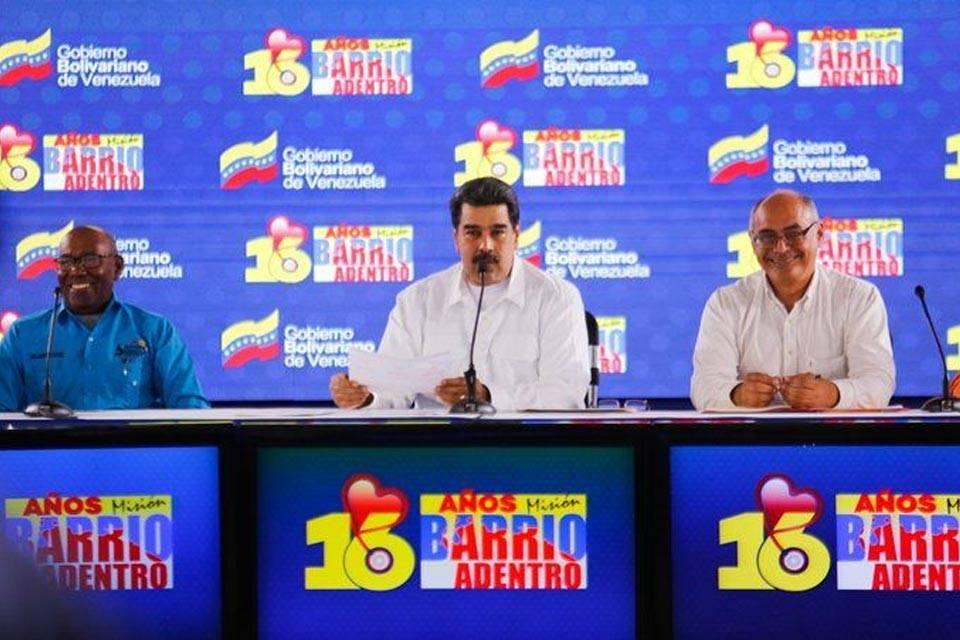 """Maduro desestima ayuda humanitaria frente a los """"números"""" de barrio adentro"""