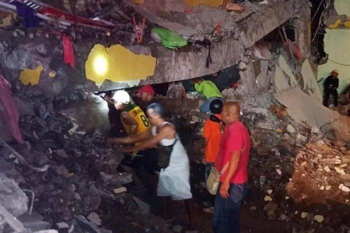 En Filipinas aumenta cifra de fallecidos por sismo de magnitud 6.1 registrado el #22Abr