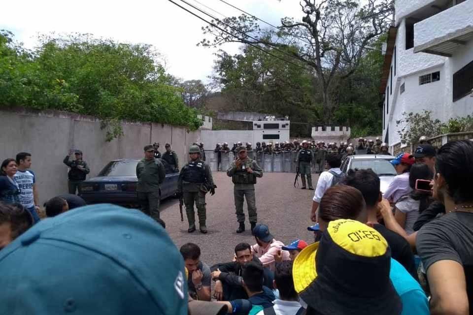Protestas en Táchira 30M