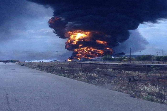 Reportan explosión de oleoducto petrolero en Urica estado Anzoátegui